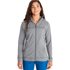 Marmot Tomales Point Capuchon Jas Dames, steel onyx heather